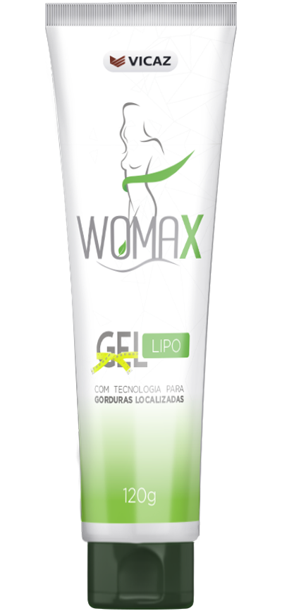 frasco de womax gel