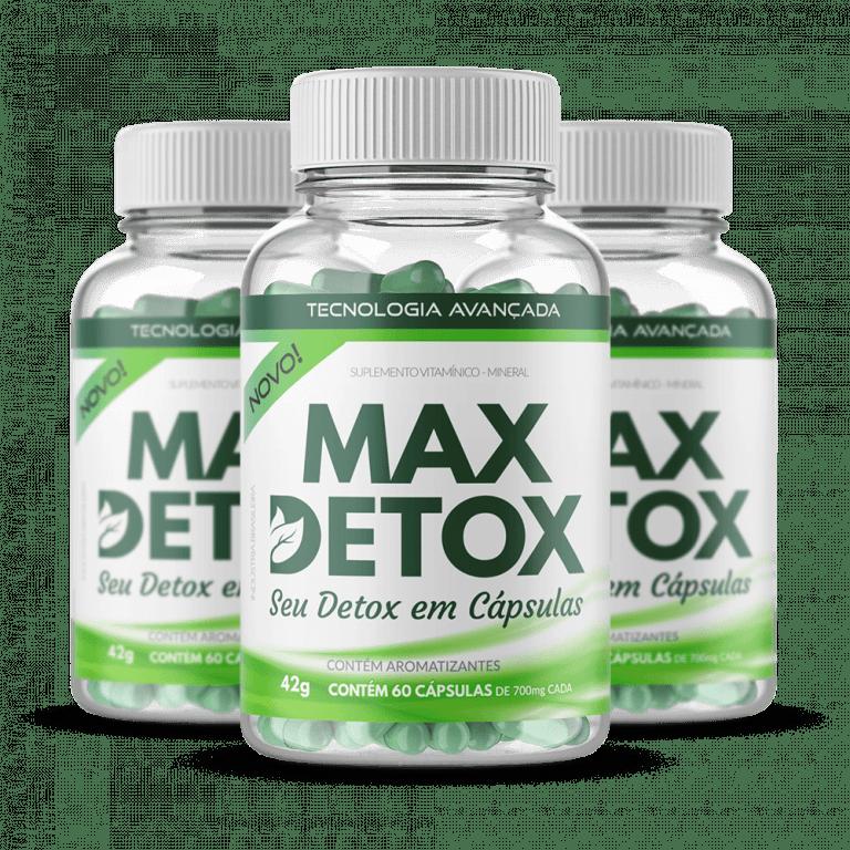 Max detox frasco