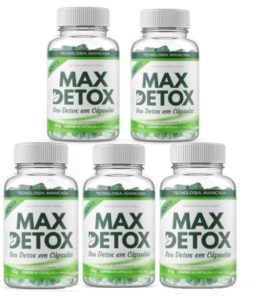 frascos do max detox