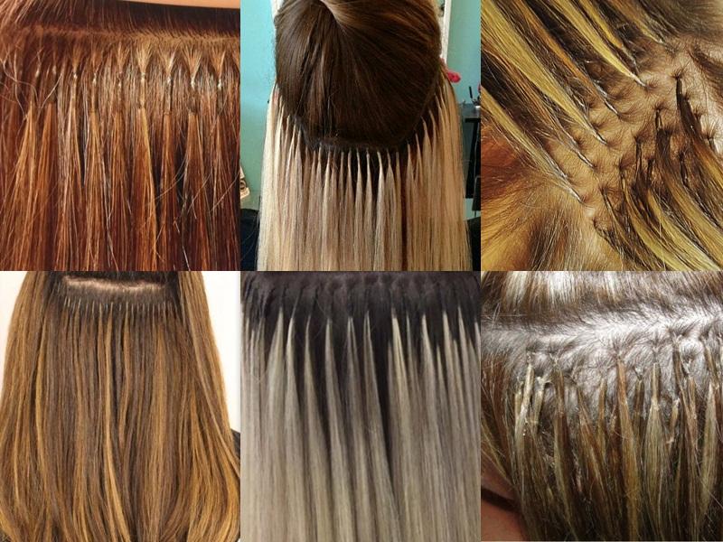 mega hair técnica de queratina