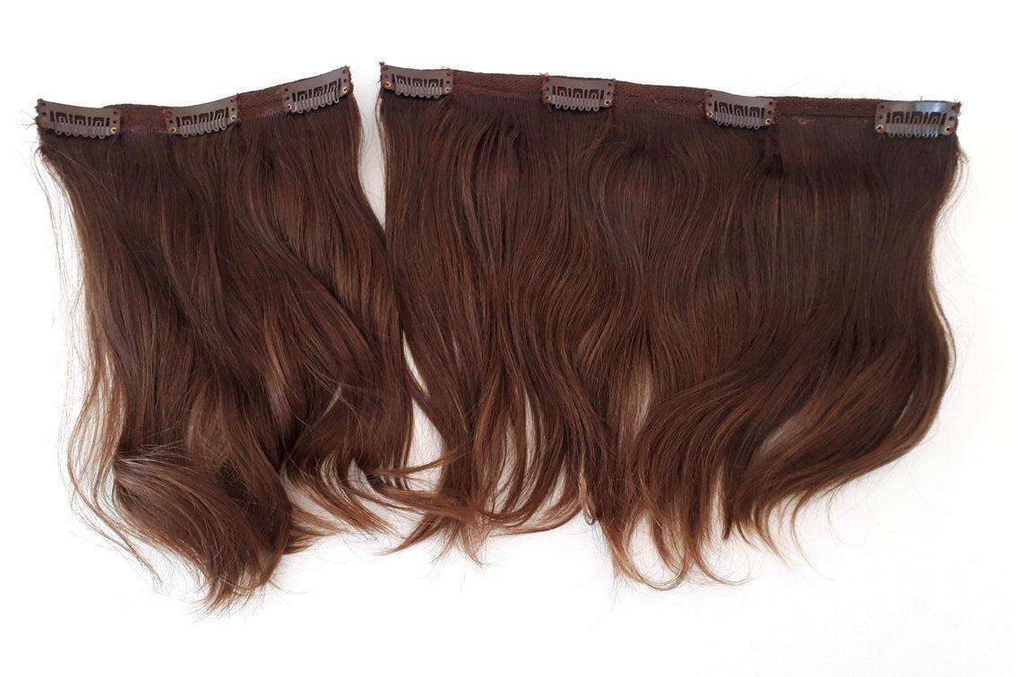 mega hair técnica tic tac