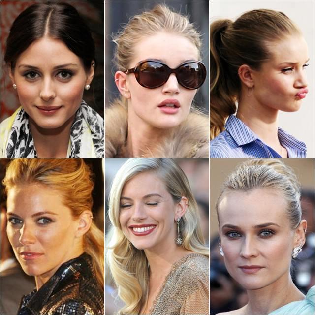 piercing orelha famosas
