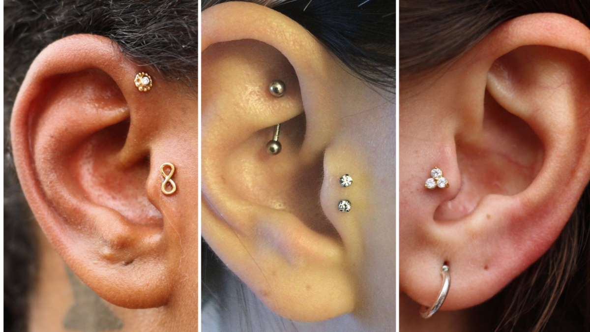 fotos de piercing no tragus