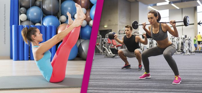 pilates contra musculação