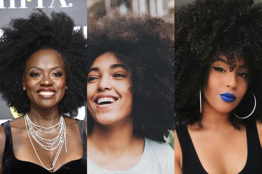mulheres que usam black power