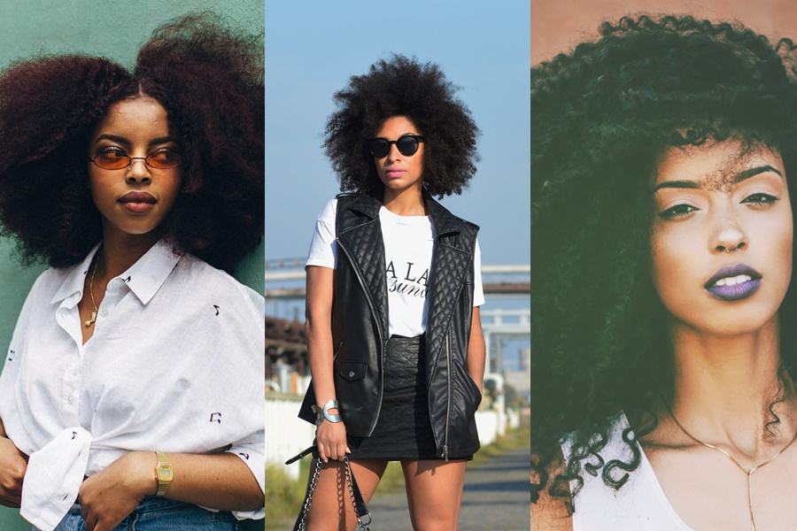 black power como cabelo afro