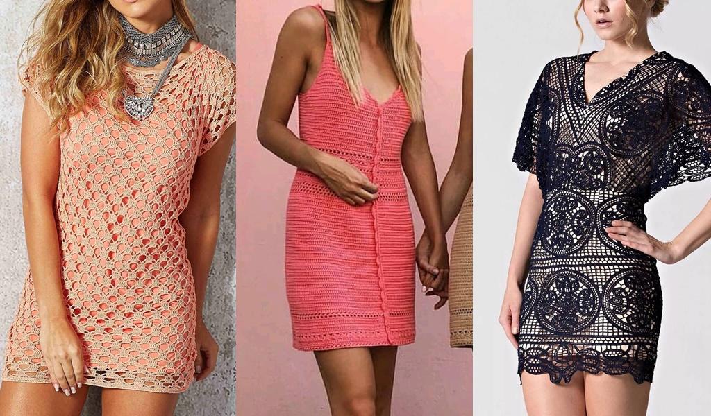 exemplos de vestidos de crocrê