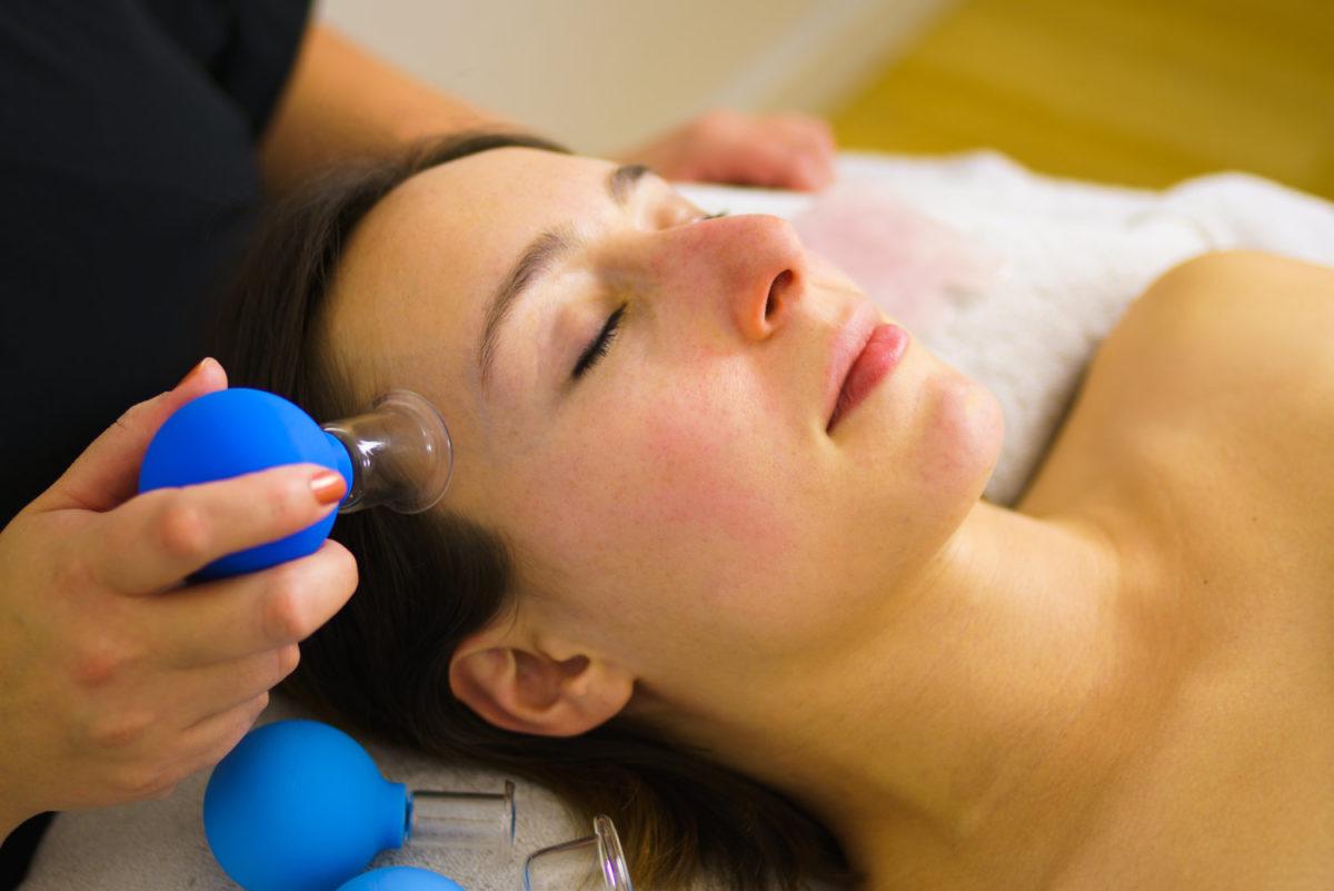 facial cupping benefícios