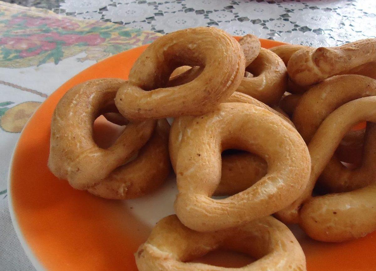 receita de biscoito frito