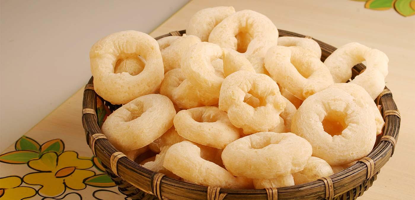 receita de biscoito de povilho