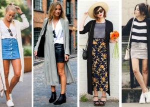 Cardigan longo, animal print, colorido, crochê…Como usar? Com quais peças combinar? Veja!