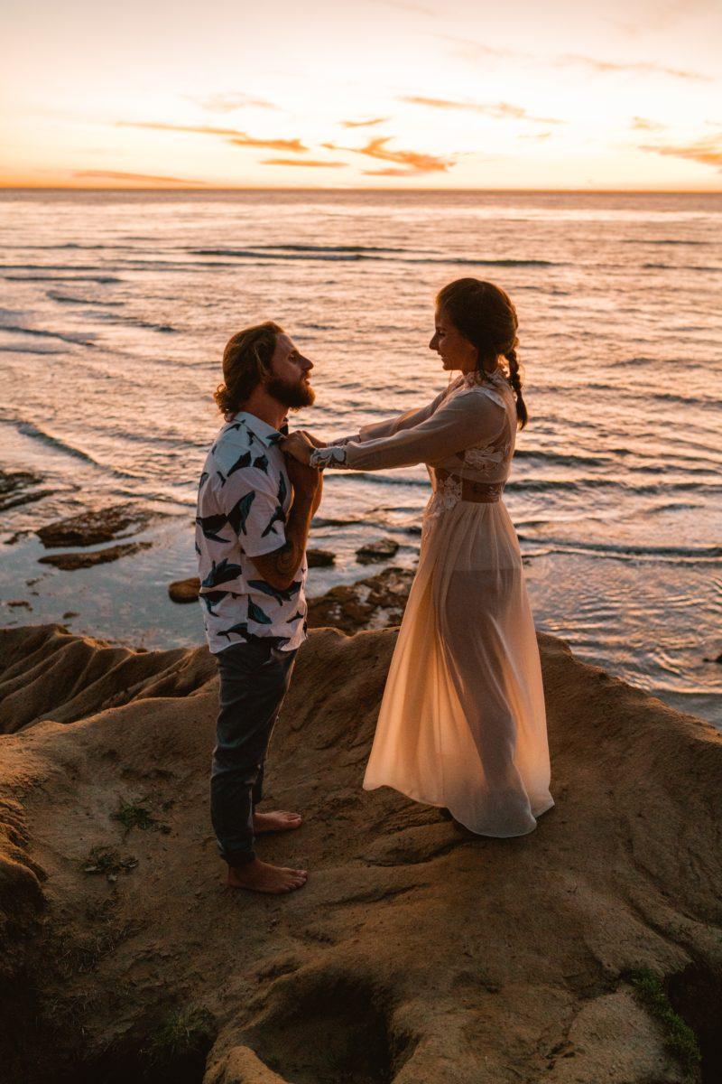 foto de amor na praia