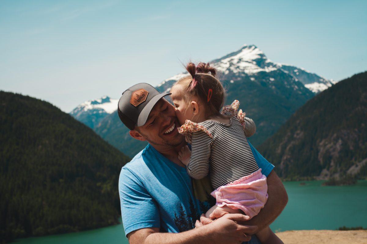 foto de amor entre pai e filho