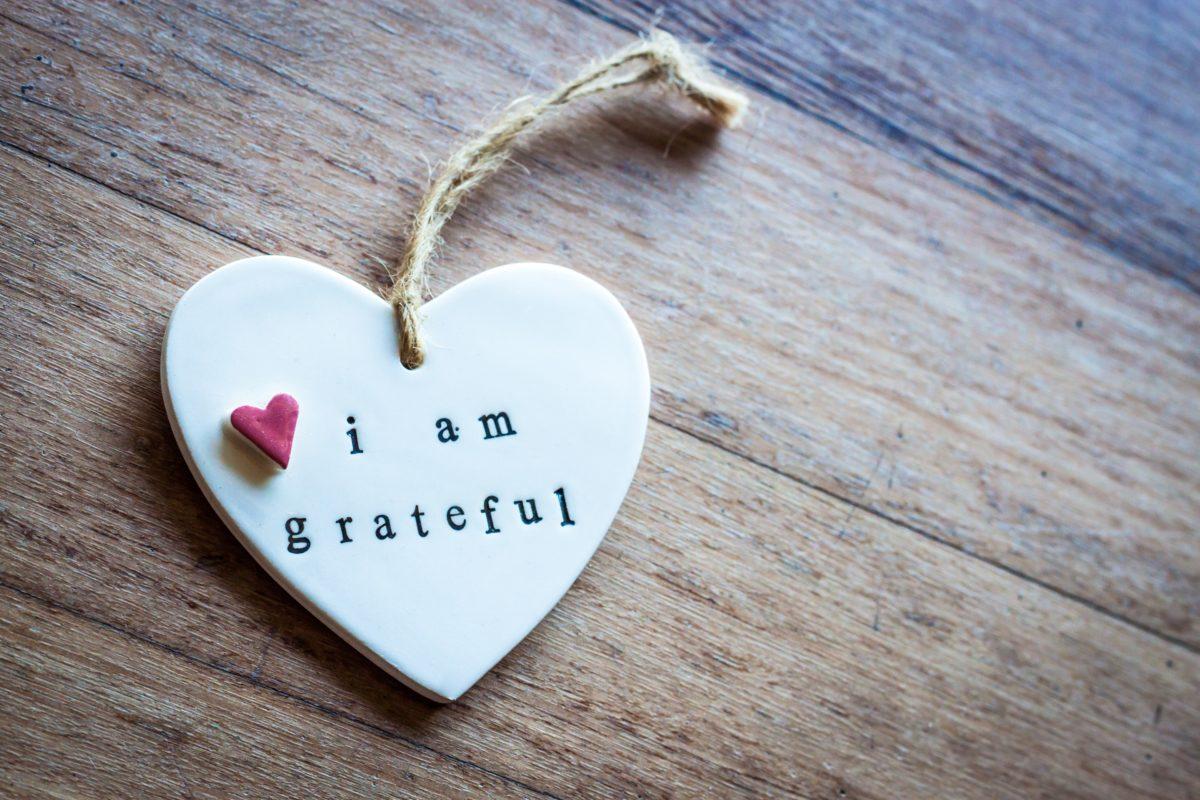 gratidão no amor