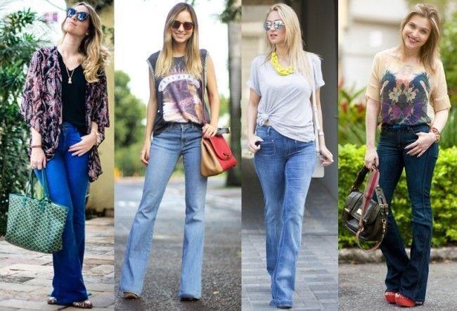 produção com calça jeans