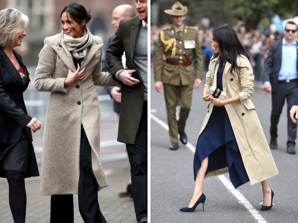 trench coat meghan markle