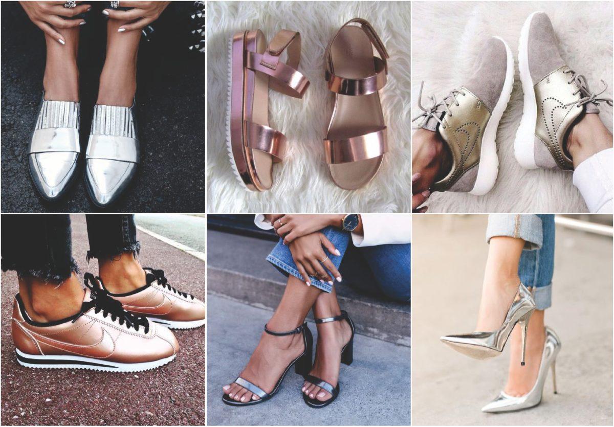 sapatos metalizados para inverno 2019